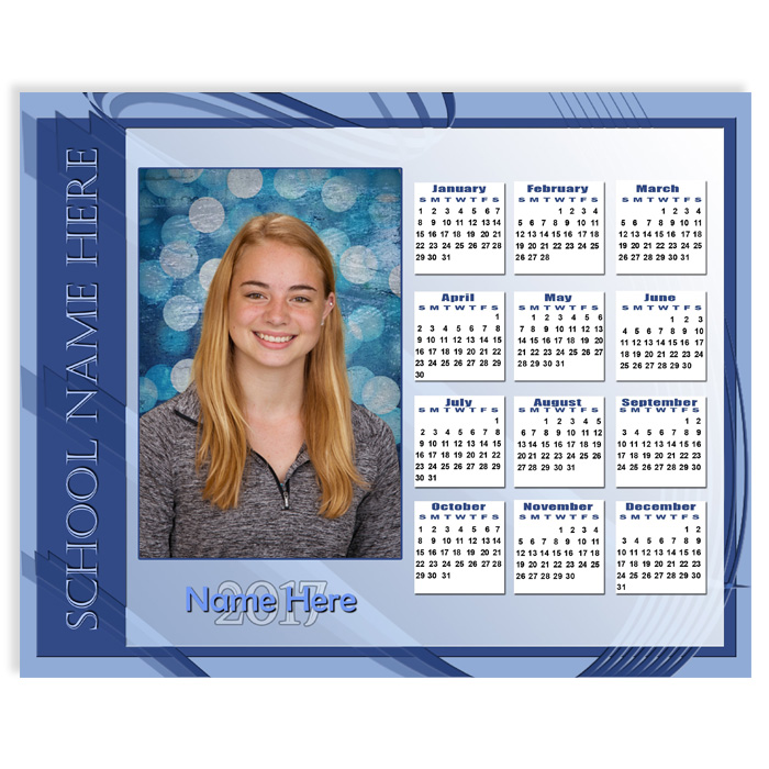 Calendar - Blue