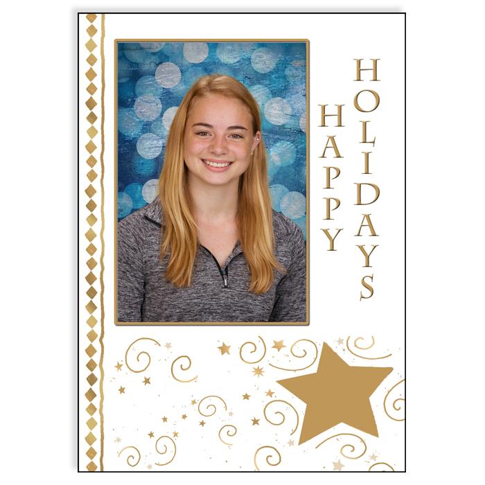 5x7 Holiday - Happy Holidays