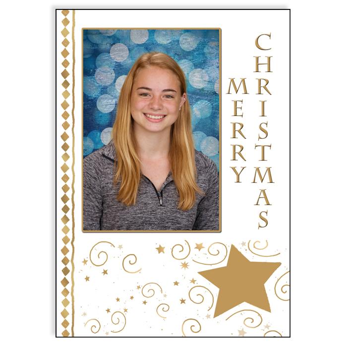 5x7 Holiday - Merry Christmas